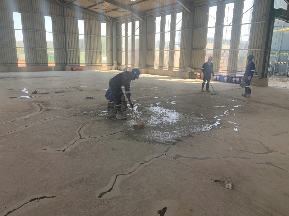 Concrete Floor Grinding & Repair